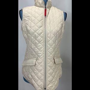 Van Heusen Quilted Vest Ivory XS